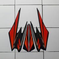 sticker lis motor yamaha rx king 2002 merah