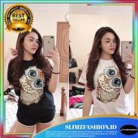 Baju Wanit Tshirt Lady Owl ACE Atasan Wanita Kaos Cewe
