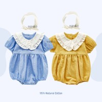 Mimiko - Kathleen Set Dress Setelan Bayi Bodysuit Bando STE0016