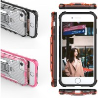 iPhone 6 6s Plus 5.5 XRAY ICEFROST Rugged Kickstand Clear Armor Case