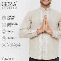 Odza Classic Baju Koko Kemeja Lengan Panjang REGULAR FIT Bagisha - XL