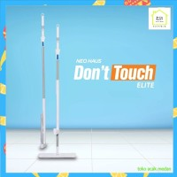 NEOHAUS Sapu Pel Dont Touch MOP Elite Stainless ( 2in1 ,360 Rotation )