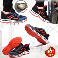 SEPATU SAFETY IMPORT WILD RED FORTY SNEAKER SAFETY RINGAN UJUNG BESI