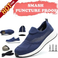 SEPATU SAFETY IMPORT CATE BLUE SIXTY EIGHT RINGAN sneaker ANTI PAKU