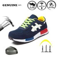 sepatu safety SPORTY ANTI PAKU import enteng SNEAKER SAFETY RINGAN