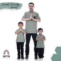 Baju koko couple ayah anak kurta pakistan baju muslim Dzaky by Arra