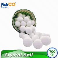 Bio Fiber Crystal Cotton Ball Water Treatment Kolam Renang 700gr
