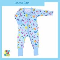 Jumpsuit Sleepsuit Piyama Resleting Baju Tidur Bayi Anak Bonbinzoo