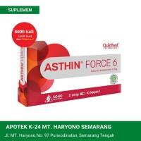 Asthin Force 6 mg Isi 10 Kapsul / Astaxanthin / Suplemen Antioksidan