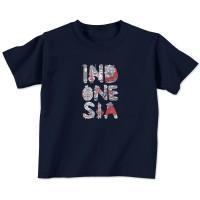 [BANGSA] KAOS MOTIF NUSANTARA INDONESIA BAHAN COMBED 30s - 6-12 BULAN