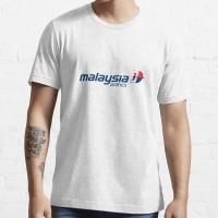 KAOS DISTRO MALAYSIAN AIRLINES BAJU TSHIRT PESAWAT MASKAPAI AVIASI
