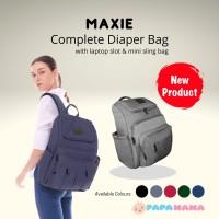 Papamama Maxie Complete Diaper Bag Tas Perlengkapan Bayi 1008