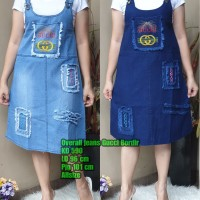 [ethnes] 590 Overall Big Size REALPICT bahan Jeans Premium - 85