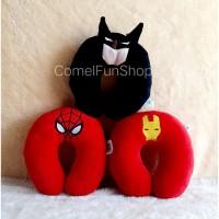 Bantal Leher SuperHero