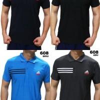 Kaos Polo Shirt Golf Tennis Sport Import Adidas 608