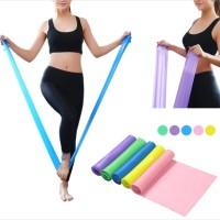 Karet Elastis Tension Stretch Band Elastic Resistance Gym Yoga Pilates