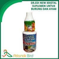 Dr.Edi New Kristal Vitamin burung meningkatkan kualitas suara merdu