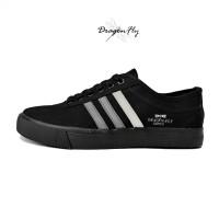 Sepatu Dragonfly All black / Sneakers Warrior Falcon Original