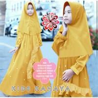Gamis Anak Perempuan Usia 7-9 tahun Tahun KITTY KIDS Baju Anak Muslim