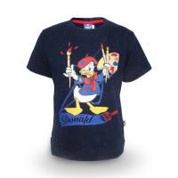 T Shirt / Kaos Anak Laki-laki / Donald Duck School Boy