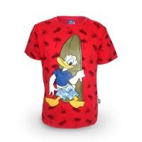 T Shirt / Kaos Anak Laki-laki / Donald Duck Free Style - 2