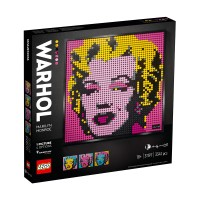 LEGO Art 31197 Andy Warhol's Marilyn Monroe 1 Picture 4 Options Artist