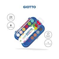 Giotto Mini Watercolor Blocks 24 Colors 23mm