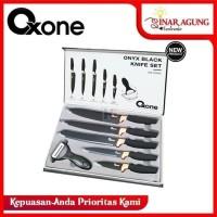 PISAU SET / KNIFE SET OXONE BLACK ONYX / ONYX HITAM OX 609N / OX-609N