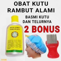 TERLARIS !! - Minyak Rambut Anti Kutu - Obat Kutu Rambut dan Telurnya