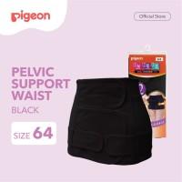 PIGEON Pelvic Support Waist Nipple Black Size 64