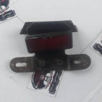 braket dudukan plat nomor belakang Yamaha FIZ R,seken,asli original