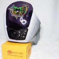Body Fairing Fiber SSR Model Kotak Mika Projie Ninja R KR