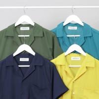 ❤️ultima❤️ RIBSGOLD Shirt Man Amarine Baju Hawaii Polos Casual