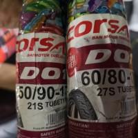 Paket Ban corsa 50 90 - 17 dan 60 80 - 17 D01 soft compound DO1