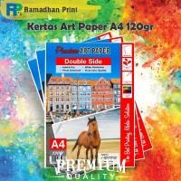 Kertas Art Carton Paper A4 120 gsm 50 Lbr Artpaper Karton glossy