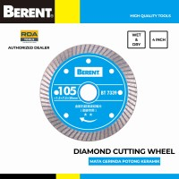 BERENT Mata Potong Keramik Granit 4 Inch Diamond Cutting Wheel BT7339