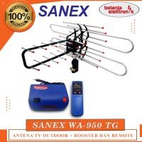 SANEX WA-950 TG ANTENA TV OUTDOOR DENGAN BOOSTER DAN REMOTE WA-950TG