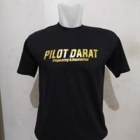 kaos pilot darat pejuang kilometer / baju busmania terlaris dan murah
