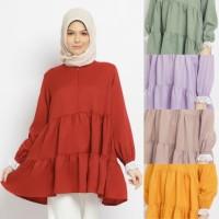ZAHRET Fathinah blouse busui friendly baju atasan muslim wanita