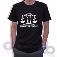 T Shirt Revolution Justice Kaos Hukum Kaos Lawyers Lawyer