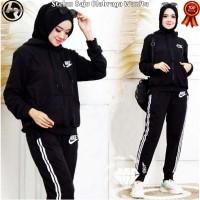 Setelan Baju Olahraga Muslimah // Seragam Kaos Senam Olah Raga Wanita