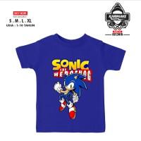 Kaos Baju Anak SONIC THE HEDGEHOG V2 Kaos Game - JURAGANPOLOSHIRT - XS