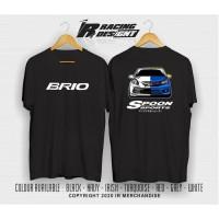 Kaos T-shirt Modifikasi Brio Spoon JDM Japan Kualitas Distro Terbaru