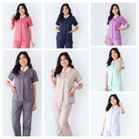 Seragam Baby Sitter Calia / Baju Suster / Baju Klinik / Seragam Nanny