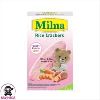 MILNA Rice Crackers Sweet Potato Carrot 20 g