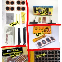 alat tambal ban sepeda motor tubles top tip cold patch tubbless kit