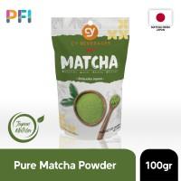 CY MATCHA POWDER 100% ORIGINAL JAPAN IMPORT GREEN TEA POWDER 100 GR
