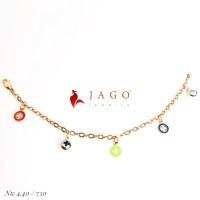 Jago Jewelry Gelang Anak Raynelle - Perhiasan Emas 18K-Y
