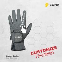 Customize Zuna Gloves Horse Riding Unisex Gallop