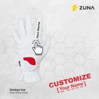 Customize Zuna Gloves Horse Riding Unisex Iva